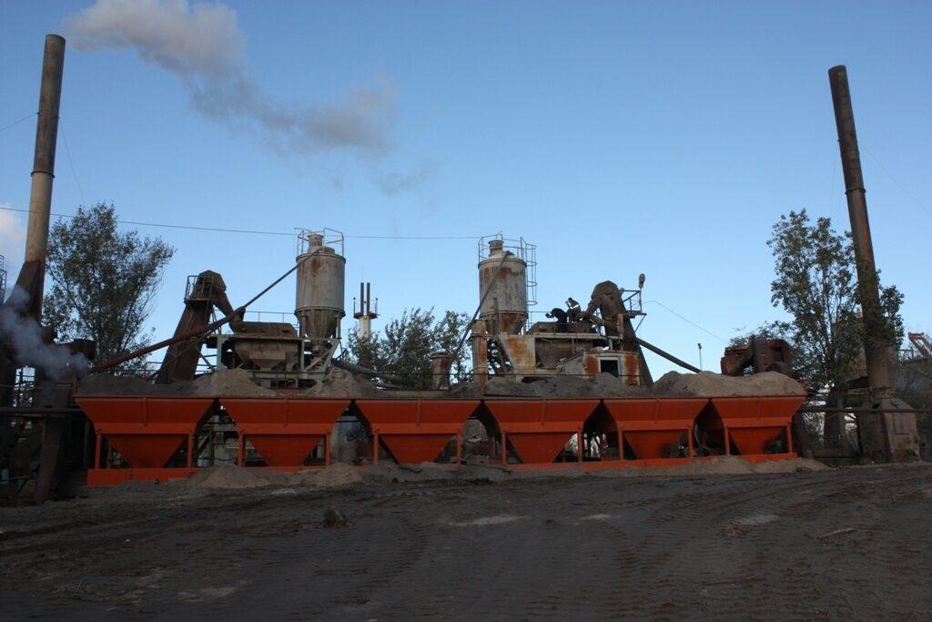 Асфальтобетонный завод ДС 185